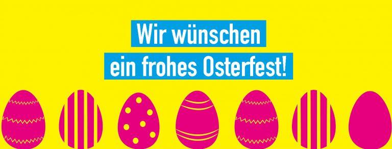 Ostern - Machen wir 2021 zu einem besseren Jahr.